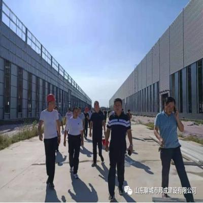 邦成公司工程管理部召开8月份生产例会